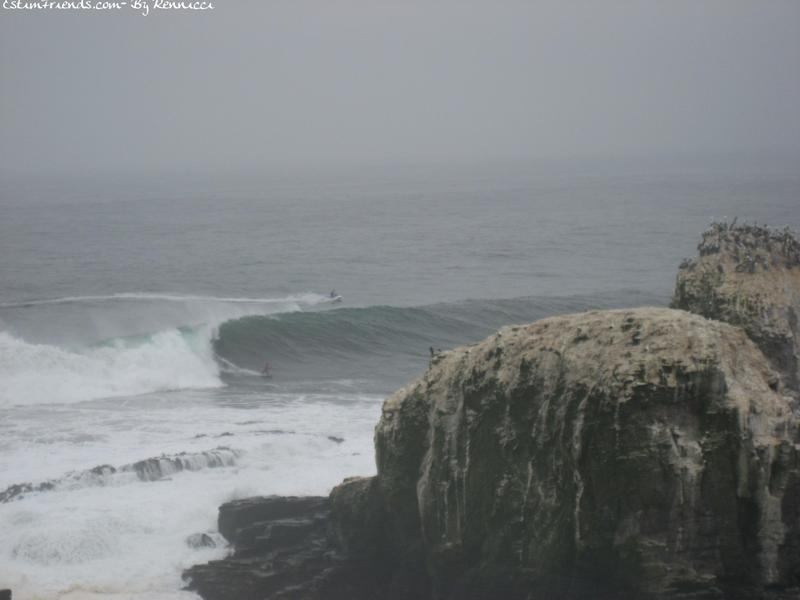 Punta Lobos à Pichilemu : Tow in
